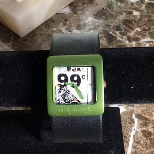 One of a kind Artisan Andy Warhol design watch